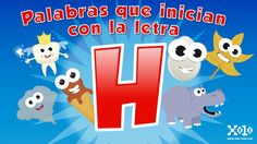 Words that start with the letter H in Spanish for children