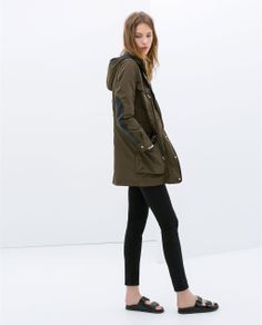 Image 2 of PARKA WITH DETACHABLE LINING from Zara