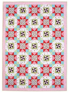 Berries and Cream Quilt Pattern Download