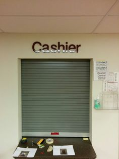 #dimensionallettering #3dlettering #acryliclettering #foamlettering #interiorsignage #interiorlettering #installationservices #SignaramaColorado #Signs #colorado Interior dimensional lettering for the cashier station at Salud Family Health Center