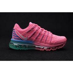 Women Nike Air Max 2016 Shoes Pink Green