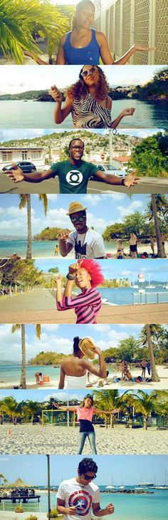 Happy (Pharrell Williams) - We Are Happy From Martinique #Pharrell #Happy #Martinique