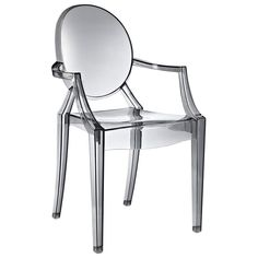 Found it at www.dcgstores.com - ♥ ♥ Casper Acrylic Stackable Ghost Armchair ♥ ♥