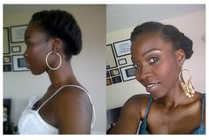 Short Natural Hair Tutotrial Tumblr Request