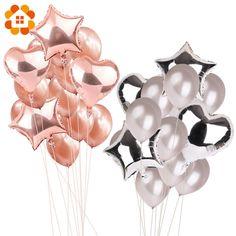 5 teile los Flamingo Folienballon Hochzeit Geburtstag Decor Party Ballons New