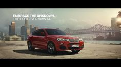 Premiere: BMW X4 Commercial.