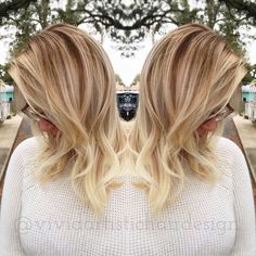 I used Candy Shaw's Balay Box lightener, Sunlights/20 vol/ @olaplex for the lightening process using a hair painting/balayage technique. For the 'lows' or adding depth I used Wella CT 6/3 7/0 1:1 applying from roots to mid-length feathering into the blonde. Step 2 of Olaplex and didn't need to tone/glaze @modernsalon @hairbrained_official @beautylaunchpad @behindthechair_com #btcpics #hairdressermagic #hair #hairlove #hairofig #haircolor #hairtrends #hairstylist #hairpainting #balayage…