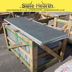 Every hearth starts with a blank slate slab.