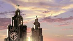 Beautiful pic of the Liver Buildings