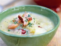 Zelná polévka s uzeným masem Cheeseburger Chowder, Soups, Food, Essen, Soup, Meals, Yemek, Eten