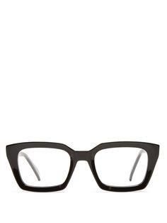 Celine Square-frame acetate glasses