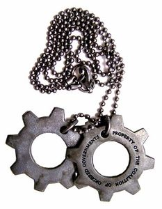 NECA Gears of War Cog Tags Hot!
