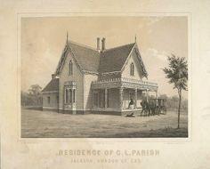 William J. Paugh House - Wikipedia, the free encyclopedia Book Background, Taj Mahal, Vintage World Maps, Jackson, Painting, Gothic, Houses, Free, Furniture