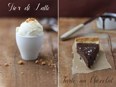 chocolate chili tart with fior di latte ice cream Latte, Chocolate Chili, Cake & Co, Ice Ice Baby, Eat Dessert First, Gelato, Cookie Recipes, Food Photography, Food And Drink