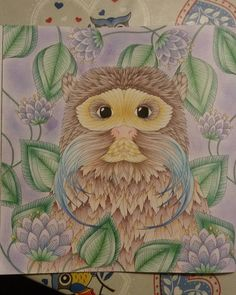 """#colouringbook #milliemarotta #tropicalwonderland #coloringbook…"