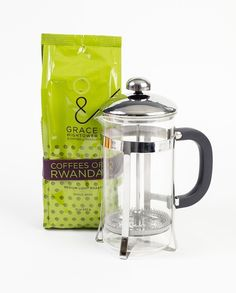 For the coffee connoisseur Grace Hightower & Coffees of Rwanda: Give back this season with over 25 delicious coffee gift set options under $100! Grace Hightower De Niro partnered up with coffee farmers in Rwanda to create a line of products that celebrate the rich, diverse flavors found throughout their land while also promoting direct sourcing, fair trade and ethical, environmentally-friendly practices. Pictured: 1 Blend Coffee, 1 French Press. $25.95