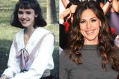 Jennifer Garner—Today but look at 20 years ago ;-)
