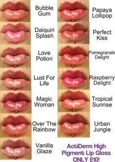High Pigment Lip Gloss