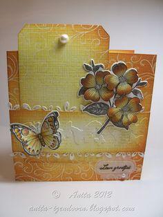 Anita 's Warme Groetjes: vlinderen met Hero Arts
