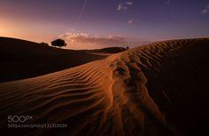 Desert by WALIDPHOTOS. Please Like http://fb.me/go4photos and Follow @go4fotos Thank You. :-)