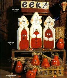 halloween tole painting | Halloween Winter Snowman Pumpkin Light Bulbs Tole Painting Patterns ...