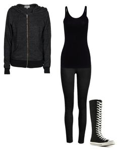 """""""ErinSwan-Dumping the boy i never loved"""" by maggotcorpse ❤ liked on Polyvore featuring T By Alexander Wang, Wildfox and Converse"""