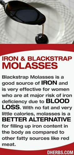 IRON AND BLACKSTRAP MOLASSES