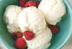 Yogurt ice cream with Thermomix - Recette dukan -