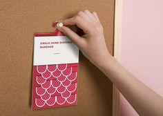 海外デザインアワード第1位! バンドエイドのキュートなパッケージデザイン | AdGang