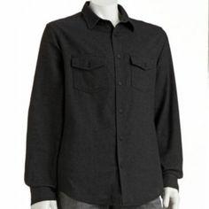 Tony Hawk Solid Flannel Shirt - Men - $8