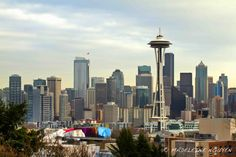 Seattle, Washington. One of the best views of Seattle's skyline is from Kerry Park in Queen Anne.