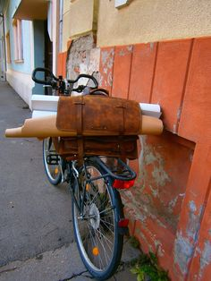 Architect Marcos Leather BagBag for paper by 74streetbags on Etsy