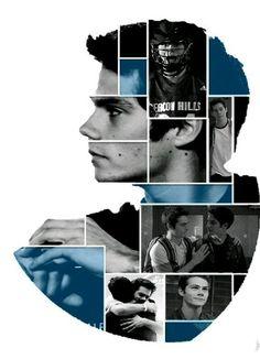 Dylan O'Brien as Stiles Stilinski 💗💗💗 Stiles Stilinski stilinski Arte Teen Wolf, Teen Wolf Art, Teen Wolf Dylan, Teen Wolf Stiles, Dylan O'brien, Teen Wolf Memes, Tyler Hoechlin, Stydia, Sterek