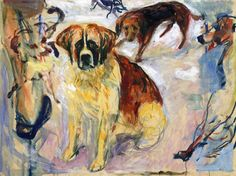 "bofransson: "" In the Kennel Edvard Munch - 1913-1915 """