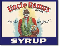 Uncle Remus Syrup Nostalgic Vintage Collectable