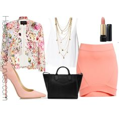 """""""Spring?"""" by adoremycurves on Polyvore"""