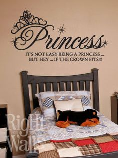 Princess Vinyl Wall Art Decal