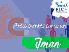 Expertos en Marketing Inbound y Outbound a un click! Entra en nuestra web richmediallc.com (link en bio) y contáctanos. #ventas #clientes #marketingonline #views #ads #leads #dinero #negocio