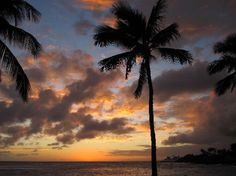 Sunset view from Beach House Restaurant