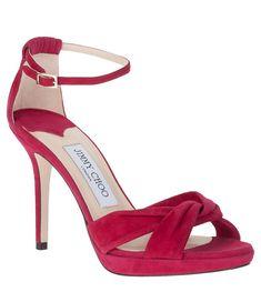 Marion suede platform sandal Jimmy Choo - Designer Shoes at ShopSavannahs.com