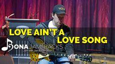 "Bona Jam Tracks - ""Love Ain't A Love Song"" - Official Joe Bonamassa Guit..."