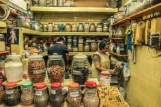 In need of spices, Central Market Mazatlan.