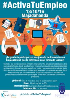 Jornada de innovación en Empleabilidad ¿Te gustaría participar en una jornada de innovación en empleabilidad que te diferencie en el mercado laboral? #innovavion #empleabilidad #asimpea #mercadolaboral #asociaciondemujeres #mujeresempresarias #mujeresprofesionales