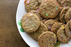 #glutenfree M&M cookies!