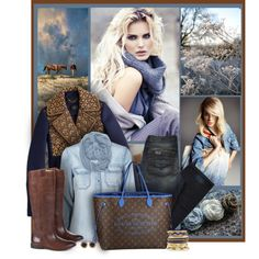 Blues, created by sherry7411 on Polyvore
