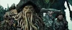 Davy Jones: Join my crew and postpone the Judgement. Will ye serve? Sailor: I will serve. Davy Jones: There. Davy Jones, Flying Dutchman, Space Pirate, Pirate Life, Film Books, Monster Art, Disney Films, Pirates Of The Caribbean, Tentacle