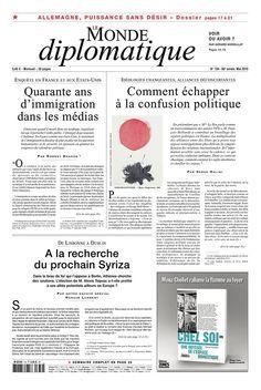 Le Monde diplomatique - Mai 2015