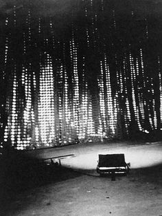 Petra Blaisse, Stage Curtain Nederlands Danstheater by OMA, 1987, demolished (!) 2015