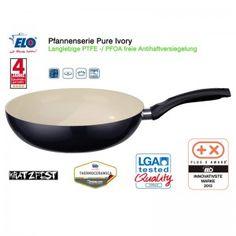 """#Aktionsangebot bis zum 04.September: """"ELO Pure Ivory - Wokpfanne aus Aluminium - 28 cm"""". Dieses Produkt lässt das Herz eines jeden Kochs und einer jeden Köchin höher schlagen und macht Kochen zur wahren Leidenschaft. #Angebot #Produkt #Geschenkidee"""