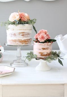 A Rifle Paper Co Inspired Floral First Birthday Party - La Croix - Ideas of La Croix - Here it is guysyou better grab a La Croix sit back and get ready for some party pretty because it's photo overload today! Baby Girl First Birthday, First Birthday Cakes, First Birthday Parties, First Birthdays, Birthday Ideas, Rustic Birthday Cake, Vintage First Birthday, Vintage Birthday Cakes, 18 Birthday Party Decorations
